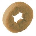 Pads rouleaux (lot de 20) souples jaunes 105 mm auto-laveuse Karcher