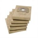 5 filtres papier 2 couches 210 aspirateur Karcher