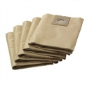 5 filtres papier 2 couches 290 aspirateur Karcher