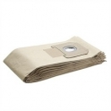 5 filtres papier 2 couches 208 aspirateur Karcher