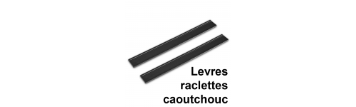 Lèvres et raclettes Karcher